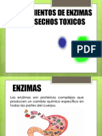 Enzimas en tratamientos de desechos tóxicos