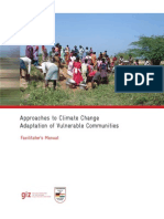 3.ApproachestoClimateChangeAdaptationinVulnerableCommunities-FacilitatorsManual