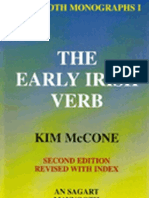 McCone_The Early Irish Verb