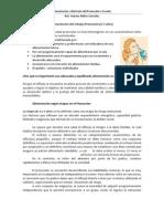 Alimentación del Preescolar y Escolar, Dr. Arteaga