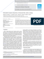 Paper119-Ladwig-Diamond_atmosphere Plasam Deposition of DLC Coating