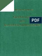 Schmitt Grammatik Des Klassisch-Armenischen