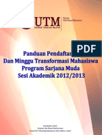 Buku Panduan Pendaftaran MTM2012