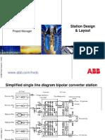 hvdc converter station layout