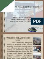Fasilitas Pelabuhan Di Darat
