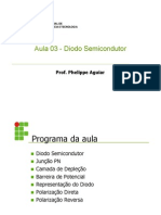 Aula03 - Diodo Semicondutor
