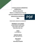DISEÑO DE PAGINAS DE PROYECTOS