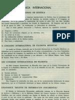Cronica Internacinal v Congreso Internacional de Estetica Revista de Filosofia Ucr Vol.4 No.13