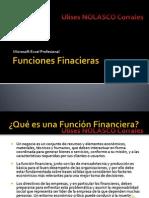 funciones financieras