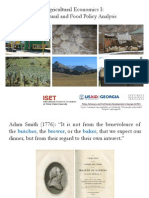 Lecture Notes - Agricultural and Food Policy Analysis (ENG)