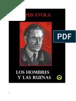 Julius Evola Los Hombre y Las Ruinas