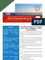 South China Sea Bulletin Vol.1 No.6 (1 June 2013)