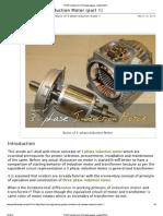 Basics of 3-Phase Induction Motor