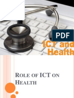 Role of ICT for Health