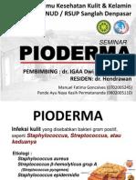 Pyo Derma By Manuel