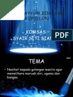 KOMSAS (Siti Sianah)