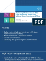 Deploying Windows Server 2012From Bare Metal_ Server Core ...
