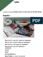 Scrapbook Wallet