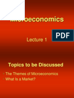 Introduction to Micro Economics Lecture 01