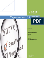 Pengertian Survey