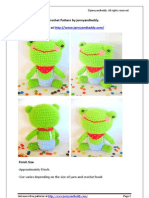 Free Mr Frog Amigurumi Crochet Pattern