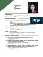 fresh graduate resume - Fresh Graduate Resume Sample