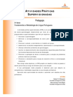 Fundamentos e Metodologia de Lingua Portuguesa - Nr (Dmi904) Atividades Praticas Supervisionadas Atps 2013 1 Ped5 Fudamentos +Metodologia Lingua Portuguesa