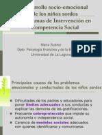 TALLER PROGRAMA COMPETENCIA SOCIAL NIÑOS SORDOS
