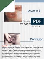 Lection 8 Syphilis