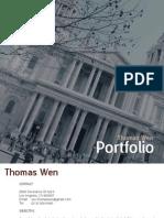 Thomas Wen Portfolio 2013