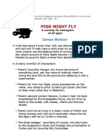 Pigs Might Fly - new teen novel for all ages by James Watson