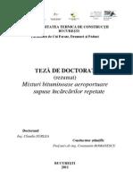 Teza Doctorat Mixturi Asfaltice