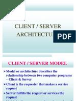 1.Mod1 Cs Architecture