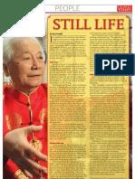 Still Life - Yu Yong Nian on Zhan Zhuang