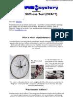 Wheel Stiffness Test