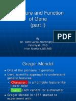 Gen(Struktur Dan Fungsi)