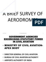 A Brief Survey of Aerodromes
