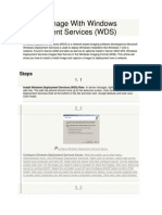 How to Image With Windows Deployment Services.pdf