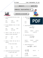 II BIM - 5to. Año - TRIG - Guía 6 - Circunferencia Trigonomé