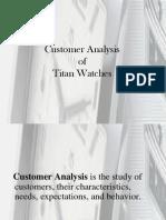 5. Case Study Titan Customer Analysis