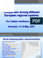 The Catalan healthcare system