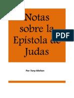 Notas sobre la Epístola de Judas