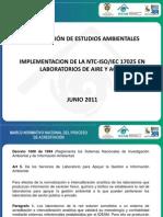 Implementacion de La NTC17025 Fortalezas y Debilidades- Margaria Gutierrez IDEAM
