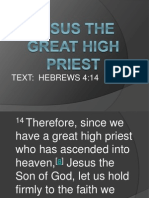 Jesus the Great High Priest
