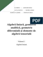 Algebra Liniara