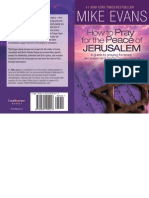 How to Pray for the Peace of Jerusalem