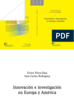 Innovación e investigación en Europa y América