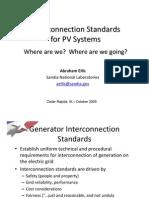 4 Ellis InterconnectionStandards