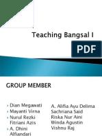 Teaching Bangsal Miliaria