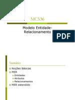 Modelo de Entidade e Relaconament